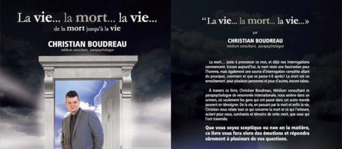 Le livre La vie… la mort… la vie par Christian Boudreau – Éditions Sarrazin